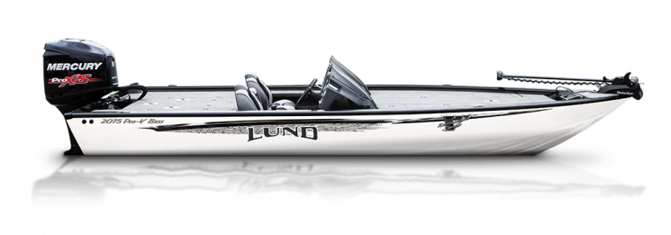 lund 2075 Pro-V Bass Bench Seating Boat - Sport Collette