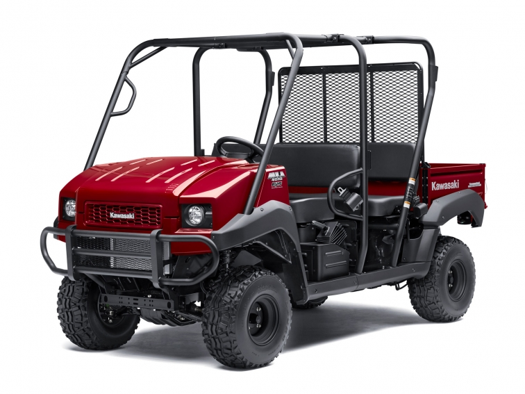 Kawasaki Mule Trans Model