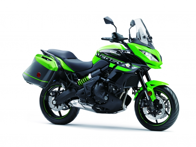 motocyclette kawasaki versys 650 abs lt se 2018 sport collette. Black Bedroom Furniture Sets. Home Design Ideas
